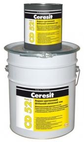 Ceresit CD 52. Акрил-уретановий фінішний захисний лак