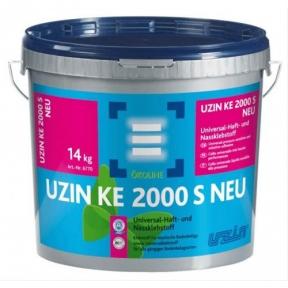 Uzin KE 2000 S NEU. Универсальный клей с хорошей адгезией, 14кг