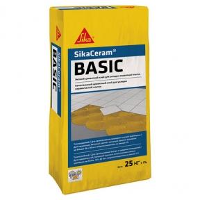 Sika Ceram Basic. Высококачественный клей для плитки, 25 кг