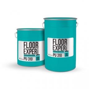 FLOOR EXPERT PU 310 (компонент A 5,04кг/компонент B 0,96кг). Двухкомпонентное покрытие