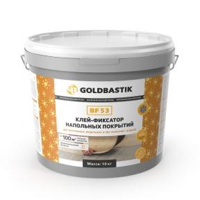 Goldbastik BF53. Клей-фіксатор підлогових покриттів 10кг