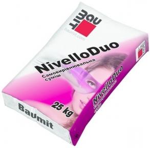 Baumit Nivello Duo. Нівелююча суміш для підлог 25кг