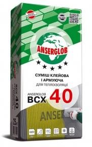 Anserglob ВСХ 40. Смесь клеевая и армирующая