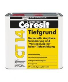 Ceresit CT 14. Грунтовка универсальная глубокопроникающая 5л