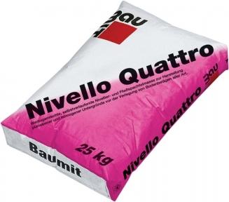 Baumit Nivello Quattro. Самовыравнивающаяся смесь 25кг