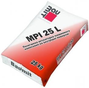 Baumit MPI 25 L. Штукатурна суміш 25кг