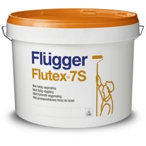 Flugger. Латексная ЭВА краска Flutex 7S+