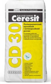 Ceresit CD 30. Полимерцементный адгезионный антикоррозионный раствор 25кг
