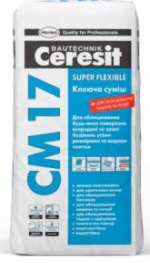 Ceresit CM 17. Клеящая смесь Super flexible, 25 кг