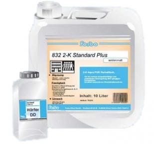 Forbo 832. Лак двокомпонентний вододисперсійний поліуретановий, 4,3 + 0,26л