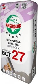Anserglob ВСТ 27. Шпаклевка финишная светло-серая