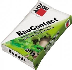 Baumit BauContact. Клей-шпаклевочная смесь 25кг