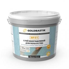 GOLDBASTIK BF 61. Клей для LVT, модульних і рулонних покриттів для підлоги і стін