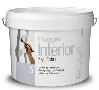 Flugger 5. Акриловая краска Interior High Finish