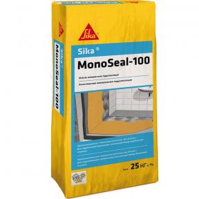 Sika MonoSeal-100. Жесткая однокомпонентная гидроизоляционная смесь, 25кг