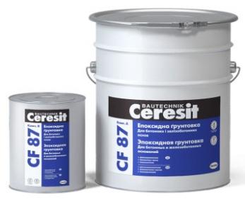 Ceresit CF 87. Эпоксидная грунтовка