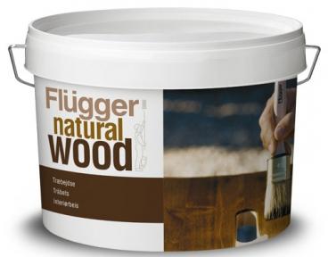 Flugger. Акриловая водная морилка Natural Wood Stain, 2,8л