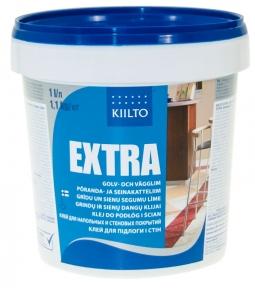 Kiilto  Extra. Клей для напольных покрытий и настенной облицовки из ПВХ