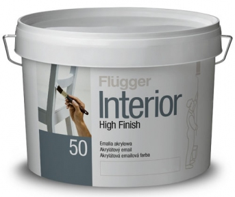 Flugger 50. Акриловая краска Interior High Finish