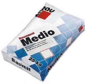 Baumit Medio. Выравнивающая клеящая смесь 25кг