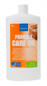 Kiilto Parquet Care Oil. Масло по уходу за паркетными и деревянными полами