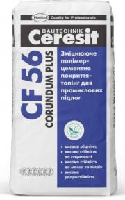 Ceresit CF 56. Упрочняющее полимерцементное покрытие Corundum Plus 25 кг