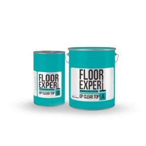 FLOOR EXPERT EP CLEAR TOP (компонент A 6,67кг/компонент B 3,33кг). Двухкомпонентная смола