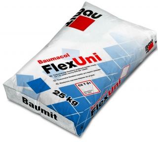 Baumit FlexUni. Эластичная клеящая смесь 25кг