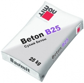 Baumit Beton B25. Модифицированная бетонная смесь 25кг