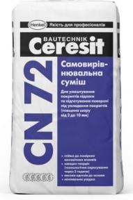 Ceresit CN 72. Самовыравнивающаяся смесь 25кг