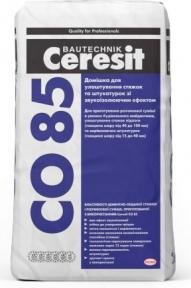 Ceresit CO 85. Добавка для изготовления стяжек и штукатурок со звукоизоляционным эффектом