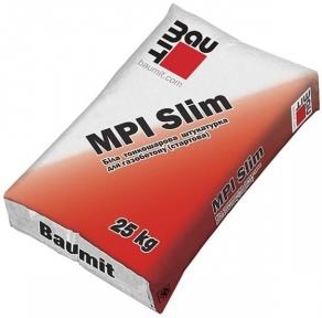 Baumit MPI Slim. Тонкослойная штукатурная смесь 25кг
