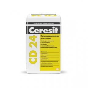 Ceresit CD 24. Шпаклівка для ремонту бетону, 25 кг