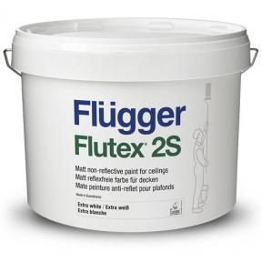 Flugger. Латексная ЭВА краска Flutex 2S