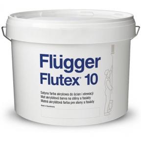 Flugger. Латексная акриловая краска Flutex 10