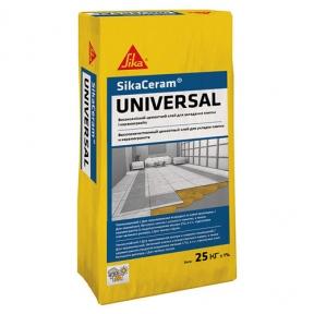 Sika Ceram Universal. Высококачественный эластичный клей, 25кг