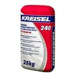 Kreisel 240. Клеящая смесь для приклеивания и выполнения армированного слоя с использованием минераловатных плит