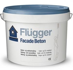 Flugger. Латексная акриловая краска Facade Beton