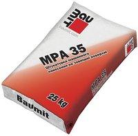 Baumit MPA 35. Штукатурная смесь 25кг