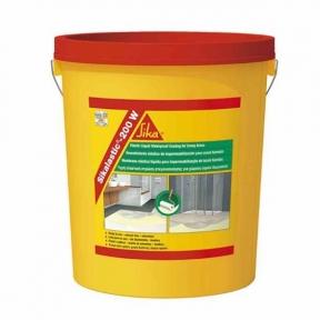 Sikalastic -200 W. Жидкое эластичное гидроизоляционное покрытие для влажных помещений