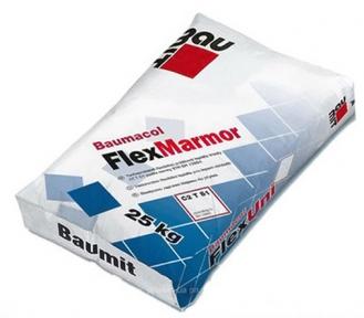 Baumit FlexMarmor. Эластичная клеевая смесь 25кг