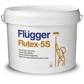 Flugger. Латексна ЕВА фарба Flutex 5S