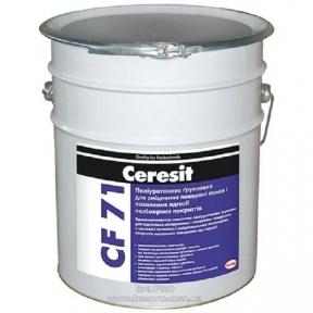 Ceresit CF 71. Полиуретановая грунтовка для укрепления поверхности оснований, 16 кг