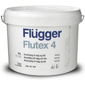 Flugger 4. Акриловая краска Flutex