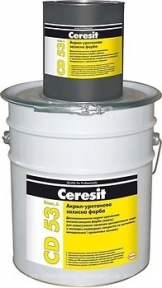 Ceresit CD 53. Акрил-уретановая защитная краска