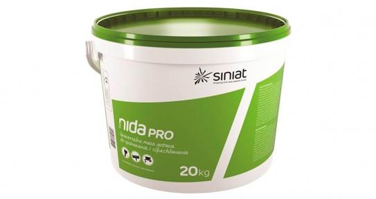 NIDA Pro. Шпаклевка универсальная доломитовая