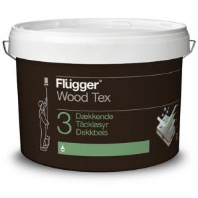 Flugger. Алкидная кроющая пропитка Wood Tex Opaque