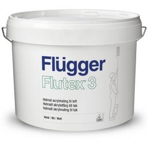 Flugger 3. Акриловая краска Flutex