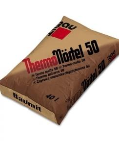 Baumit ThermoMörtel 50. Растворная смесь для кладки 0.04м3