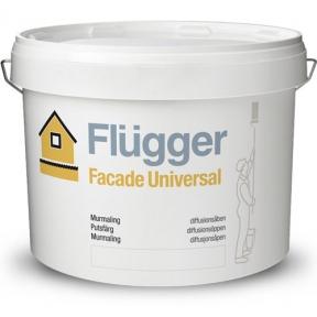 Flugger. Латексная масляная краска Facade Universal, 9,1л